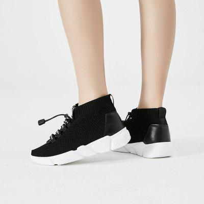 Women Black Mesh Breathable Athletic ShoesWomens Casual Shoes<br>Women Black Mesh Breathable Athletic Shoes<br><br>Available Size: 35 36 37 38 39 40<br>Closure Type: Slip-On<br>Embellishment: None<br>Gender: For Women<br>Insole Material: PU<br>Lining Material: Synthetic<br>Outsole Material: Plastic<br>Package Contents: 1  x  Shoes(pair)<br>Pattern Type: Solid<br>Season: Spring/Fall<br>Shoe Width: Medium(B/M)<br>Toe Shape: Round Toe<br>Toe Style: Closed Toe<br>Upper Material: Synthetic<br>Weight: 1.1340kg