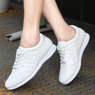 Mesh Breathable Leisure Athletic Flat ShoesWomens Casual Shoes<br>Mesh Breathable Leisure Athletic Flat Shoes<br><br>Available Size: 35 36 37 38 39 40 41<br>Closure Type: Lace-Up<br>Embellishment: None<br>Gender: For Women<br>Insole Material: PU<br>Lining Material: Synthetic<br>Occasion: Casual<br>Outsole Material: Plastic<br>Package Contents: 1  x  Shoes(pair)<br>Pattern Type: Solid<br>Season: Spring/Fall<br>Shoe Width: Medium(B/M)<br>Toe Shape: Round Toe<br>Toe Style: Closed Toe<br>Upper Material: PU<br>Weight: 1.1340kg