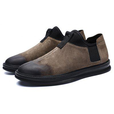 Men Fashion British Leather ShoesCasual Shoes<br>Men Fashion British Leather Shoes<br><br>Available Size: 39 40 41 42 43 44<br>Closure Type: Lace-Up<br>Embellishment: None<br>Gender: For Men<br>Outsole Material: Rubber<br>Package Contents: 1?Shoes(pair)<br>Pattern Type: Others<br>Season: Spring/Fall<br>Toe Shape: Round Toe<br>Toe Style: Closed Toe<br>Upper Material: Pigskin<br>Weight: 1.0200kg