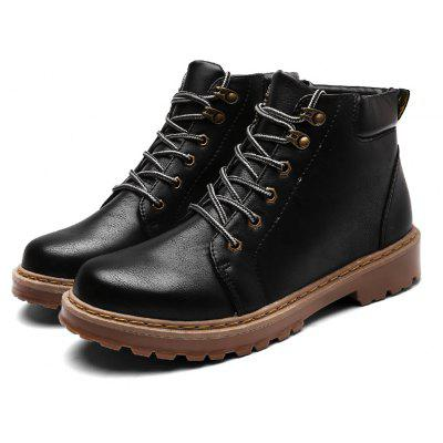 "Men High Vamp Fashion Lace Up Martin BootsMens Boots<br>Men High Vamp Fashion Lace Up Martin Boots<br><br>Boot Height: Ankle<br>Boot Type: Fashion Boots<br>Closure Type: Lace-Up<br>Embellishment: None<br>Gender: For Men<br>Heel Hight: Low(0.75""-1.5"")<br>Heel Type: Flat Heel<br>Outsole Material: Rubber<br>Package Contents: 1?Shoes(pair)<br>Pattern Type: Others<br>Season: Spring/Fall<br>Shoe Width: Medium(B/M)<br>Toe Shape: Round Toe<br>Upper Material: PU<br>Weight: 1.0200kg"