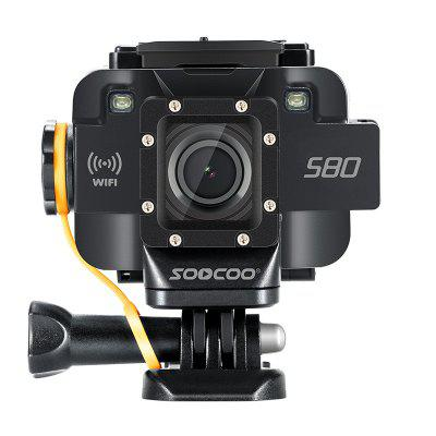 soocoo s80 sports camera wifi to support microphone starlight night vision online. Black Bedroom Furniture Sets. Home Design Ideas