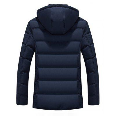 Mens Fashion Warm Cotton Casual Down JacketMens Jackets &amp; Coats<br>Mens Fashion Warm Cotton Casual Down Jacket<br><br>Closure Type: Zipper<br>Clothes Type: Padded<br>Collar: Hooded<br>Colors: Black,Blue,Gray<br>Detachable Part: None<br>Fabric Type: Microfiber<br>Hooded: Yes<br>Lining Material: Cotton,Synthetic<br>Materials: Down, Cotton<br>Package Content: 1 X Coat<br>Package size (L x W x H): 1.00 x 1.00 x 1.00 cm / 0.39 x 0.39 x 0.39 inches<br>Package weight: 0.5000 kg<br>Size1: M,L,XL,4XL,2XL,3XL<br>Sleeve Style: Regular<br>Style: Casual<br>Thickness: Thickening<br>Type: Slim