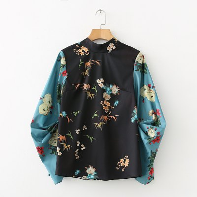 New Womens Color Tie Print BlousesBlouses<br>New Womens Color Tie Print Blouses<br><br>Collar: Turtleneck<br>Elasticity: Elastic<br>Embellishment: Bowknot<br>Fabric Type: Worsted<br>Material: Cotton, Acetate, Microfiber<br>Package Contents: 1 x Shirt<br>Pattern Type: Floral<br>Shirt Length: Regular<br>Sleeve Length: Full<br>Style: Fashion<br>Weight: 0.2000kg
