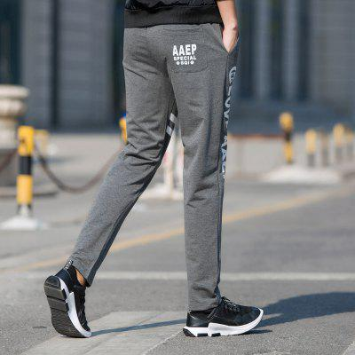 Mens Leisure Sports Straight Tube Trim PantsMens Pants<br>Mens Leisure Sports Straight Tube Trim Pants<br><br>Fit Type: Loose<br>Front Style: Flat<br>Material: Cotton<br>Package Contents: 1 x Pants<br>Pant Length: Long Pants<br>Pant Style: Pencil Pants<br>Style: Active<br>Waist Type: Mid<br>Weight: 0.5000kg