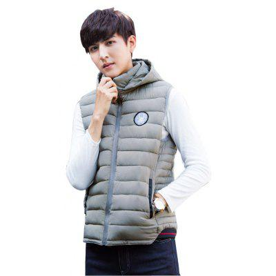 New Winter Hooded Cotton Vest