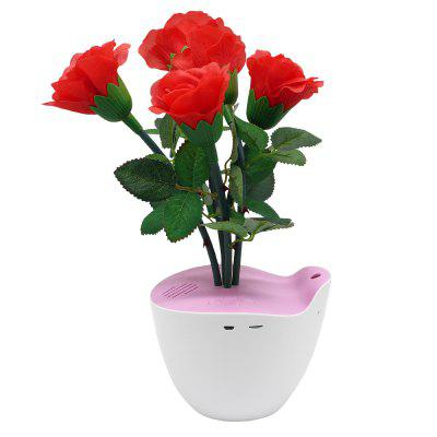 D Bengo Smart Music Flowers Art with Motion Pot for Home Decoration