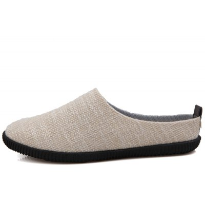 Men Casual Fashion Slip on Outdoor Indoor Flat SlipperMens Sandals<br>Men Casual Fashion Slip on Outdoor Indoor Flat Slipper<br><br>Available Size: 39-44<br>Closure Type: Slip-On<br>Embellishment: None<br>Gender: For Men<br>Occasion: Casual<br>Outsole Material: Rubber<br>Package Contents: 1?Shoes(pair)<br>Pattern Type: Solid<br>Sandals Style: Slides<br>Style: Fashion<br>Upper Material: Cloth<br>Weight: 1.2000kg