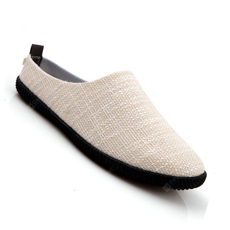 Men Casual Fashion Slip on Outdoor Indoor Flat Slipper