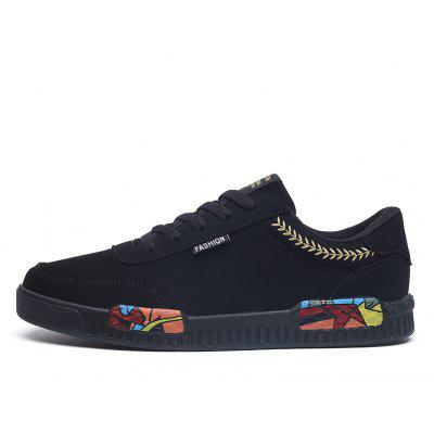 Men Casual Fashion Sneakers Outdoor Colour Leather Flat ShoesCasual Shoes<br>Men Casual Fashion Sneakers Outdoor Colour Leather Flat Shoes<br><br>Available Size: 39-44<br>Closure Type: Lace-Up<br>Embellishment: None<br>Gender: For Men<br>Outsole Material: EVA<br>Package Contents: 1?Shoes(pair)<br>Pattern Type: Others<br>Season: Winter, Spring/Fall<br>Toe Shape: Round Toe<br>Toe Style: Closed Toe<br>Upper Material: Leather<br>Weight: 1.2000kg