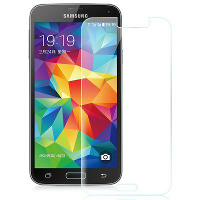 2.5D Tempered Glass Film 9H Screen Protector for Samsung Galaxy S5Samsung S Series<br>2.5D Tempered Glass Film 9H Screen Protector for Samsung Galaxy S5<br><br>Compatible Phone Brand: SAMSUNG<br>Compatible with: Galaxy S5<br>Features: High Transparency, High-definition, Anti scratch, Protect Screen<br>For: Samsung Mobile Phone<br>Material: Tempered Glass<br>Package Contents: 1 x Screen Protector,  1 x Wipe Toolkit<br>Package size (L x W x H): 16.00 x 8.00 x 1.00 cm / 6.3 x 3.15 x 0.39 inches<br>Package weight: 0.0400 kg<br>Surface Hardness: 9H<br>Thickness: 0.3mm<br>Type: Screen Protector