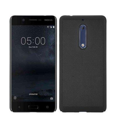 Heat Dissipation Ultra-thin Frosted Back Cover Solid Color Hard PC Case for Nokia 5