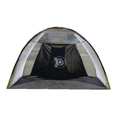 Outdoor Folding Target Net Golf Exercise Set Ball Indoor Strike Tent