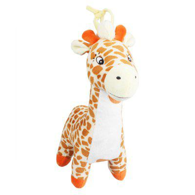 Giraffe Style Plush Toy with Music