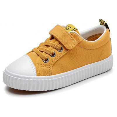 New Style Canvas Casual White Children's Shoes