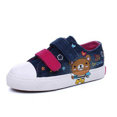 Children Shoes New Low Canvas Casual Cute Cartoon