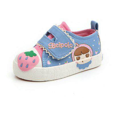Cartoon Decoration Lovely Children Girls Canvas Magic Stick Toddler Shoes