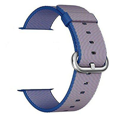 Buy ROYAL Fine Woven Nylon Wrist Strap Bracelet Replacement Band With Stainless Steel Buckle for iWatch Series 3 2 1 Sport Edition for $8.34 in GearBest store
