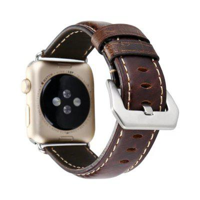 42mm Vintage Series Premium Genuine Leather Strap Classic Replacement with Secure Buckle  Adapter for iWatch 3  2  1Smart Watch Accessories<br>42mm Vintage Series Premium Genuine Leather Strap Classic Replacement with Secure Buckle  Adapter for iWatch 3  2  1<br><br>Package Contents: 1x Watch Band with Adapter<br>Package size: 15.00 x 7.00 x 1.10 cm / 5.91 x 2.76 x 0.43 inches<br>Package weight: 0.0200 kg<br>Product size: 12.00 x 7.00 x 1.00 cm / 4.72 x 2.76 x 0.39 inches<br>Product weight: 0.0190 kg