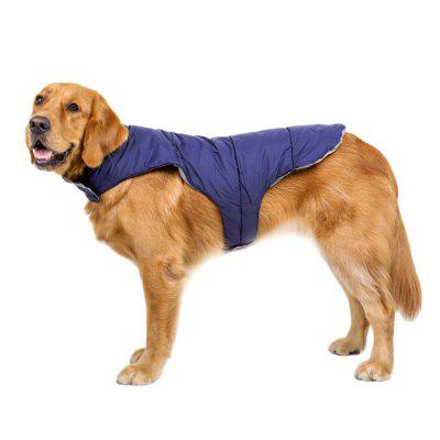 Premium Reversible Sports Paded Winter Jacket for Dogs