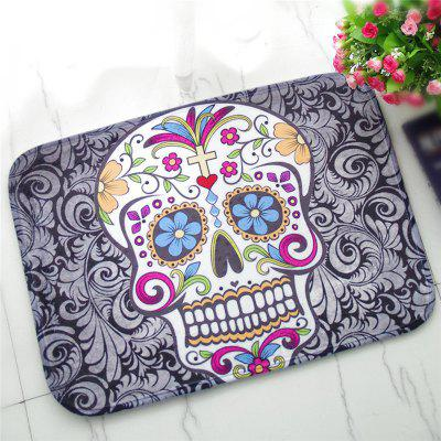 Buy COLORMIX Creative Skull Pattern Antiskid Floor Mat for $12.28 in GearBest store