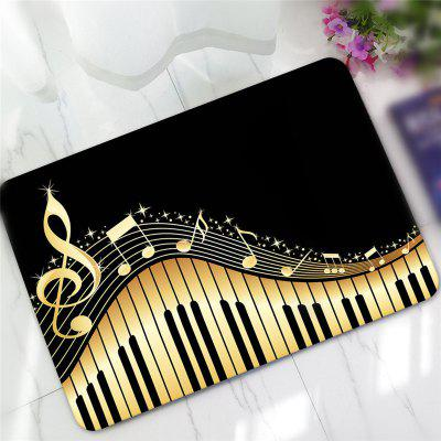 Buy COLORMIX Creative Piano Pattern Antiskid Floor Mat for $14.79 in GearBest store