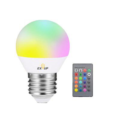 EXUP RGB E27 5W 270 Degree Remote Control LED Spot Bulb