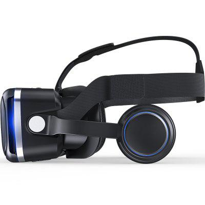 Seven Generation of VR3D Virtual Reality Game GlassesVR Headset<br>Seven Generation of VR3D Virtual Reality Game Glasses<br><br>Application: Games, Movies<br>Audio format: WAV, MP3<br>Brand: SHINECON<br>Color: Black<br>Compatible with: iPhone, Android Devices, Smartphones<br>Features: Lightweight, Cool, Gamer-friendly, High Resolution, Robust Quality, Stylish, Novel Experience<br>Focus Adjustment: Yes<br>FOV: 92 degree<br>FOV Range: 70 - 90 degree<br>Games support: No<br>Interface: No<br>IPD (Interpupillary distance): 45MM<br>IPD Adjustment: Yes<br>Language: English<br>Material: ABS<br>Model: G04E<br>Package Contents: 1xPacking color1x VR glasses1x English instructions   1xCleaningCloth<br>Package size (L x W x H): 22.00 x 23.00 x 11.00 cm / 8.66 x 9.06 x 4.33 inches<br>Package weight: 0.6600 kg<br>Primary Button Type: Magnet<br>Product size (L x W x H): 18.00 x 15.00 x 10.00 cm / 7.09 x 5.91 x 3.94 inches<br>Product weight: 0.6200 kg<br>Refraction Compensation (Degrees): 600<br>Screen: LCD<br>Smartphone Compatibility: 4.7 - 6.0 inch<br>Space for Glasses: Yes<br>Video format: AMV, MP4, MKV, MPG<br>VR Glasses Type: VR Glasses
