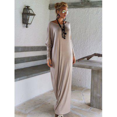 2017 New Long Sleeve Elegant Long DressWomens Dresses<br>2017 New Long Sleeve Elegant Long Dress<br><br>Dresses Length: Ankle-Length<br>Elasticity: Elastic<br>Fabric Type: Jersey<br>Material: Polyester<br>Neckline: Round Collar<br>Package Contents: 1 ? Dress<br>Pattern Type: Solid<br>Season: Fall<br>Silhouette: A-Line<br>Sleeve Length: Long Sleeves<br>Style: Casual<br>Weight: 0.5000kg<br>With Belt: No