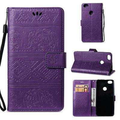 Multi-functional Faux Leather Wallet Stand Case for Xiaomi Redmi Note 5A Prime