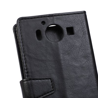 KaZiNe Crazy Horse Texture surface Leather Wallet Case for Lumia 950Cases &amp; Leather<br>KaZiNe Crazy Horse Texture surface Leather Wallet Case for Lumia 950<br><br>Compatible Model: Lumia 950<br>Features: Full Body Cases, Cases with Stand, With Credit Card Holder, Anti-knock<br>Material: TPU, PU Leather<br>Package Contents: 1 x Phone Case<br>Package size (L x W x H): 15.30 x 7.50 x 1.60 cm / 6.02 x 2.95 x 0.63 inches<br>Package weight: 0.0570 kg<br>Style: Solid Color