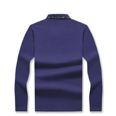 Mens Stylish Floral Slim Long-Sleeved Personality Polo ShirtMens T-shirts<br>Mens Stylish Floral Slim Long-Sleeved Personality Polo Shirt<br><br>Collar: Turn-down Collar<br>Color Style: Contrast Color<br>Fabric Type: Broadcloth<br>Material: Cotton<br>Package Contents: 1 x T-Shirt<br>Pattern Type: Letter<br>Sleeve Length: Full<br>Style: Casual<br>Type: Regular<br>Weight: 0.2000kg