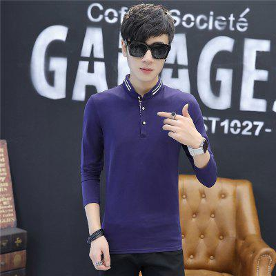 Mens Stylish Floral Stand Collar Long-Sleeved T-ShirtMens T-shirts<br>Mens Stylish Floral Stand Collar Long-Sleeved T-Shirt<br><br>Collar: Stand-Up Collar<br>Material: Cotton<br>Package Contents: 1 x T-Shirt<br>Pattern Type: Print<br>Sleeve Length: Full<br>Style: Casual<br>Weight: 0.2000kg
