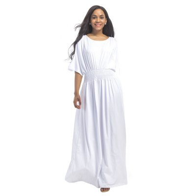 Buy WHITE 3XL Women's Mesh Ruffle Patchwork Sexy Dress for $28.77 in GearBest store