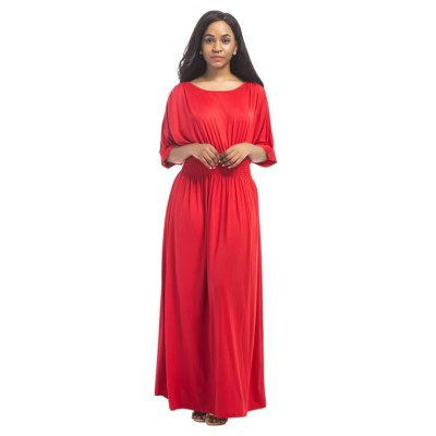 Buy RED 3XL Women's Mesh Ruffle Patchwork Sexy Dress for $28.77 in GearBest store
