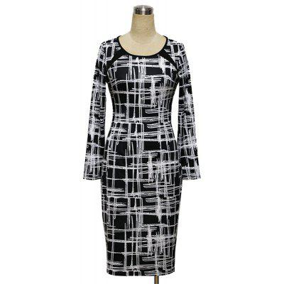 Womens  Long Sleeve Color Block Midi DressLong Sleeve Dresses<br>Womens  Long Sleeve Color Block Midi Dress<br><br>Dresses Length: Knee-Length<br>Elasticity: Elastic<br>Fabric Type: Broadcloth<br>Material: Polyester<br>Neckline: Round Collar<br>Package Contents: 1 x Dress<br>Pattern Type: Striped<br>Season: Spring, Fall, Winter<br>Silhouette: Sheath<br>Sleeve Length: Long Sleeves<br>Style: Fashion<br>Weight: 0.3000kg<br>With Belt: No