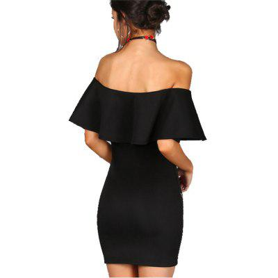 Womens Slash Neck Off Shoulder Ruffle Embroidery Midi DressWomens Dresses<br>Womens Slash Neck Off Shoulder Ruffle Embroidery Midi Dress<br><br>Dresses Length: Mini<br>Elasticity: Elastic<br>Fabric Type: Broadcloth<br>Material: Polyester<br>Neckline: Slash Neck<br>Package Contents: 1 x Dress<br>Pattern Type: Floral<br>Season: Summer<br>Silhouette: Sheath<br>Sleeve Length: Short Sleeves<br>Style: Fashion<br>Weight: 0.3000kg<br>With Belt: No