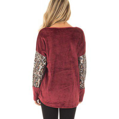 Womens Fashion Large Size Round Neck Stitching Leopard T-ShirtTees<br>Womens Fashion Large Size Round Neck Stitching Leopard T-Shirt<br><br>Collar: Round Neck<br>Elasticity: Elastic<br>Fabric Type: Worsted<br>Material: Polyester, Cotton Blends<br>Package Contents: 1 x T-Shirt<br>Pattern Type: Patchwork<br>Shirt Length: Regular<br>Sleeve Length: Full<br>Style: Fashion<br>Weight: 0.2200kg