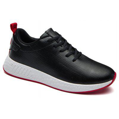 Buy BLACK WHITE 43 Light Solid Fashion Leisure Shoes for $55.25 in GearBest store