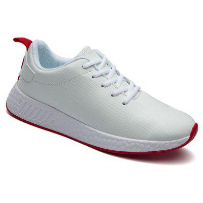 Buy WHITE 43 Light Solid Fashion Leisure Shoes for $55.25 in GearBest store