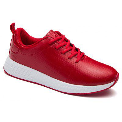 Buy RED 40 Light Solid Fashion Leisure Shoes for $55.25 in GearBest store