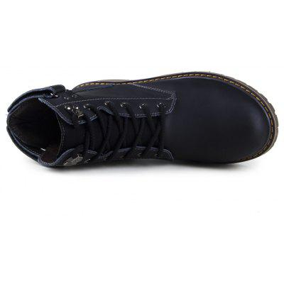 High Bulk Tooling Comfortable Leisure ShoesCasual Shoes<br>High Bulk Tooling Comfortable Leisure Shoes<br><br>Available Size: 38-44<br>Closure Type: Lace-Up<br>Embellishment: Letter<br>Gender: Unisex<br>Outsole Material: Rubber<br>Package Contents: 1 x Shoes (pair)<br>Pattern Type: Solid<br>Season: Winter, Spring/Fall<br>Toe Shape: Round Toe<br>Toe Style: Closed Toe<br>Upper Material: Genuine Leather<br>Weight: 1.4852kg