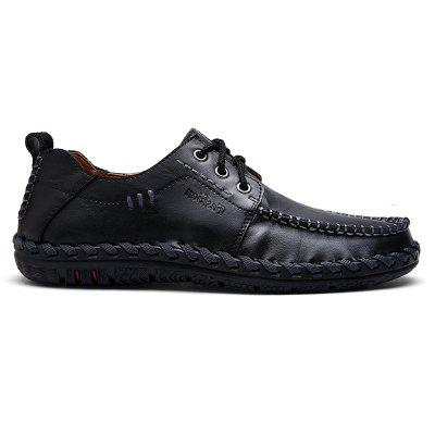 Soft Breathable Natural Low Durable Comfortable Leisure ShoesCasual Shoes<br>Soft Breathable Natural Low Durable Comfortable Leisure Shoes<br><br>Available Size: 38-44<br>Closure Type: Lace-Up<br>Embellishment: None<br>Gender: For Men<br>Outsole Material: Rubber<br>Package Contents: 1 x Shoes (pair)<br>Pattern Type: Others<br>Season: Summer, Winter, Spring/Fall<br>Toe Shape: Round Toe<br>Toe Style: Closed Toe<br>Upper Material: Genuine Leather<br>Weight: 1.4852kg