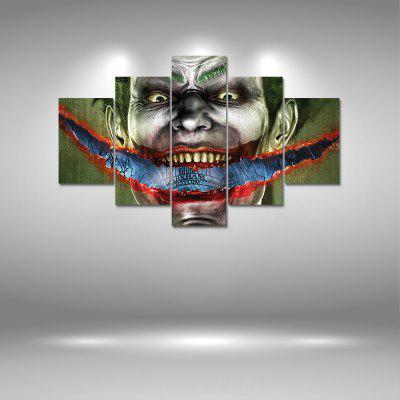Joker Canvas Print Painting Home Decoration Wall Art Picture 5PCS