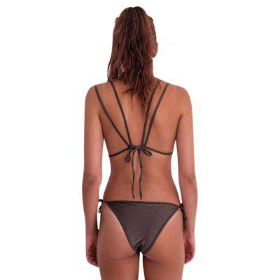 Europe and The United States Explosion-Proof Solid Color Bikini Halter Tie Triangle Split SwimwearWomens Swimwear<br>Europe and The United States Explosion-Proof Solid Color Bikini Halter Tie Triangle Split Swimwear<br><br>Bra Style: Push Up<br>Elasticity: Micro-elastic<br>Gender: For Women<br>Material: Polyester<br>Package Contents: 1 xSwimwear<br>Pattern Type: Others<br>Support Type: Wire Free<br>Swimwear Type: Tankini<br>Waist: Natural<br>Weight: 0.1000kg<br>With Pad: Yes