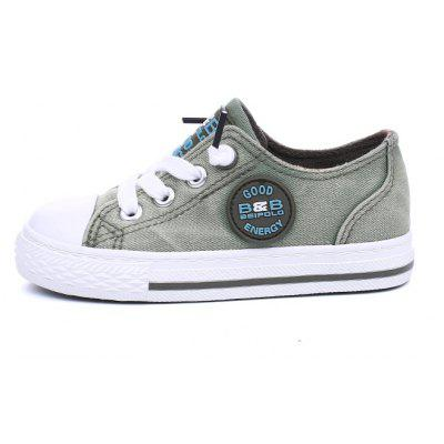 The New Boys and Girls Campus Leisure Cowboy Canvas ShoesBoys Clothing<br>The New Boys and Girls Campus Leisure Cowboy Canvas Shoes<br><br>Available Size: 24-37<br>Closure Type: Slip-On<br>Embellishment: Shoelace<br>Gender: Unisex<br>Heel Height Range: Low(0.75-1.5)<br>Heel Type: Low Heel<br>Insole Material: EVA<br>Item Type: Children Casual Shoes<br>Lining Material: Canvas<br>Outsole Material: Rubber<br>Package Contents: 1 x Pair of Shoes<br>Package weight: 0.6000 kg<br>Pattern Type: Patchwork<br>Product weight: 0.5500 kg<br>Seasons: Summer,Winter,Spring/Fall<br>Shoe Width: Medium(B/M)<br>Toe Shape: Round Toe<br>Upper Material: Canvas