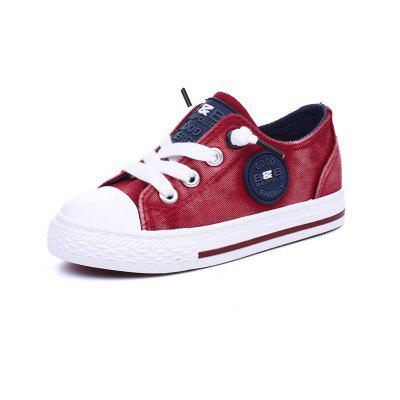 The New Boys and Girls Campus Leisure Cowboy Canvas Shoes