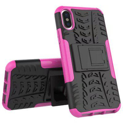 Case for iPhone X Super Cool Back Clip Holder Protection Shell Rugged Cover SmartphoneiPhone Cases/Covers<br>Case for iPhone X Super Cool Back Clip Holder Protection Shell Rugged Cover Smartphone<br><br>Color: Rose Madder<br>Features: Anti-knock, Back Cover, Dirt-resistant, Shatter-Resistant Case<br>Material: TPU, PC<br>Package Contents: 1 x Phone Case<br>Package size (L x W x H): 20.00 x 9.00 x 2.00 cm / 7.87 x 3.54 x 0.79 inches<br>Package weight: 0.0600 kg<br>Style: Solid Color