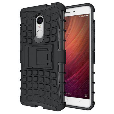 Heavy-duty Hard Back Case Cover with Kickstand for Xiaomi Redmi Note 4 / 4X