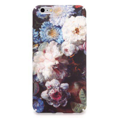 Buy PINK Pink Flower PC Case Cover for iPhone 7 Plus / 8 Plus for $1.96 in GearBest store