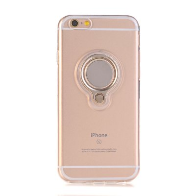 360 Degree Ring Kickstand Clip Metal Plate Bracket Shockproof Phone Case for iPhone 6 / 6s
